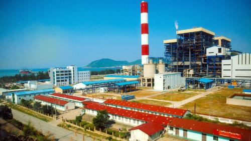 dự án tiêu biểu: nhà máy điện